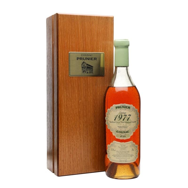 Prunier Cognac 1977 Petite Champagne