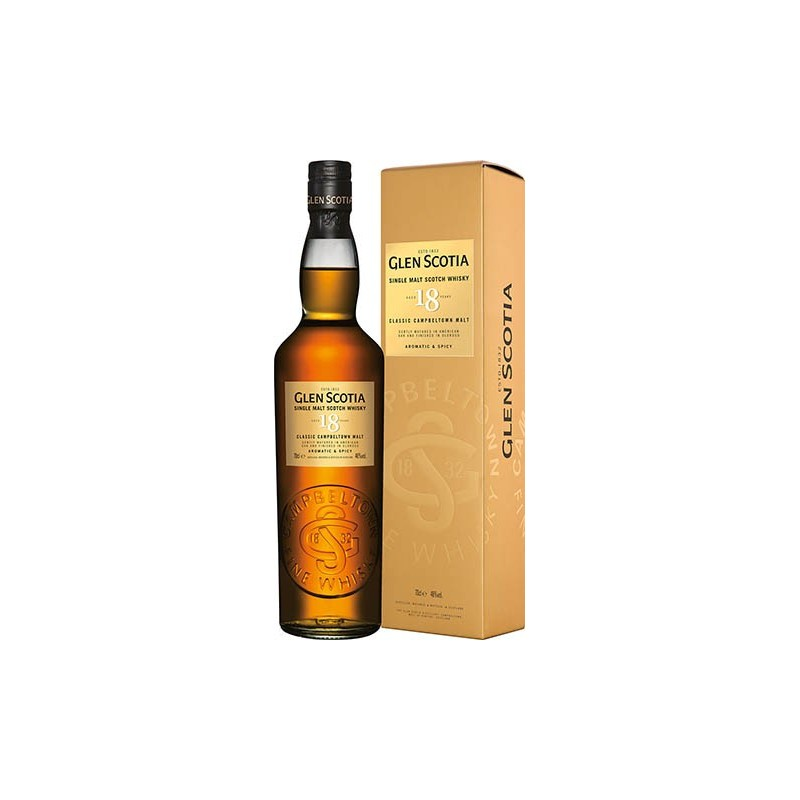 GLEN SCOTIA 18 YO SINGLE MALT 0,7L 46% KARTONIK