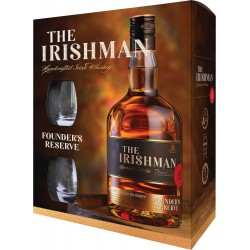 The Irishman Founders Reserve + 2 szklanki